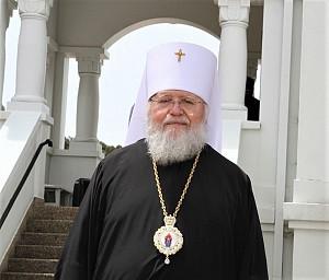 Митрополит Иларион, архиепископ Австралийский и Ново-Зеландский